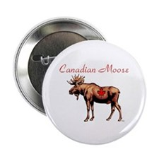 """Canadian Moose 2.25"""" Button (10 pack)"""