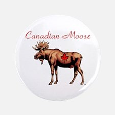 "Canadian Moose 3.5"" Button"