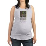 Happiness is a Butterfly Maternity Tank Top
