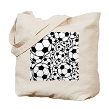 A gazillion soccer balls Tote Bag