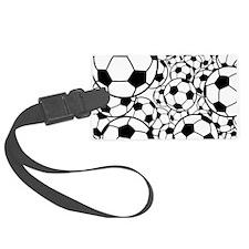 A gazillion soccer balls Luggage Tag