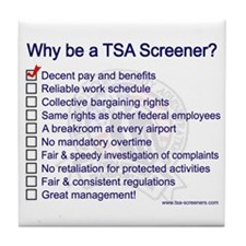 Why Be A Screener? Tile Coaster