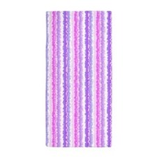 Spattered Stripes Beach Towel