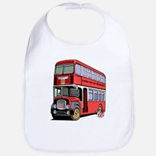 London Double Decker Bus Bib