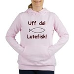 Uff Da! Lutefisk Women's Hooded Sweatshirt