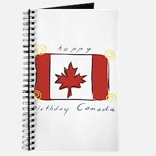 Happy Birthday Canada Journal
