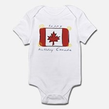 Happy Birthday Canada Infant Bodysuit