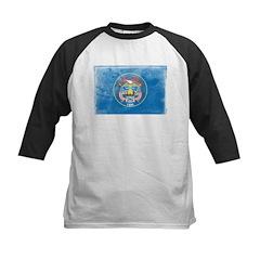 Vintage Utah Flag Kids Baseball Jersey