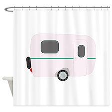 Camper Trailer Shower Curtain