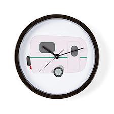Camper Trailer Wall Clock