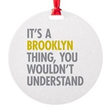 Brooklyn Thing Ornament