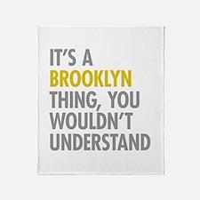 Brooklyn Thing Throw Blanket