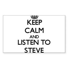 Keep Calm and Listen to Steve Decal