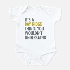 Bay Ridge Thing Infant Bodysuit