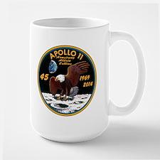 Apollo 11 45th Anniversary Large Mug Mugs