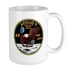 Apollo 11 45th Anniversary MugMugs