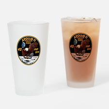 Apollo 11 45th Anniversary Drinking Glass