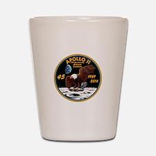 Apollo 11 45th Anniversary Shot Glass