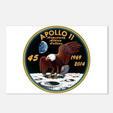 Apollo 11 45th Anniversar Postcards (Package of 8)