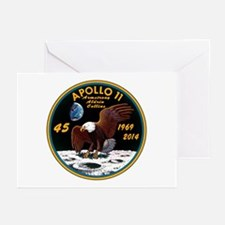 Apollo 11 45th Anniversa Greeting Cards (Pk of 10)