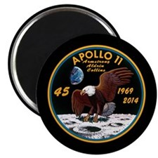 Apollo 11 45th Anniversary Magnet Magnets