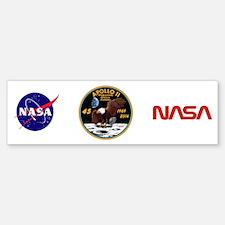 Apollo 11 45th Anniversary Bumper Bumper Sticker