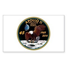 Apollo 11 45th Anniversary Decal