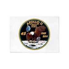 Apollo 11 45th Anniversary 5'x7'Area Rug