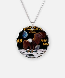 Apollo 11 45th Anniversary Necklace