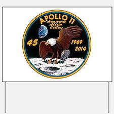 Apollo 11 45th Anniversary Yard Sign
