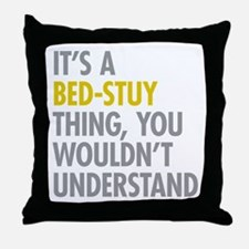 Bed-Stuy Thing Throw Pillow
