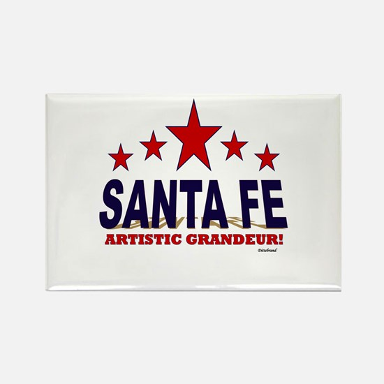 Santa Fe Artistic Grandeur Rectangle Magnet