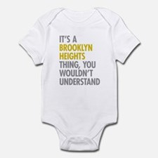 Brooklyn Heights Thing Infant Bodysuit