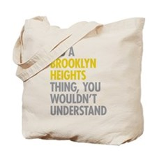 Brooklyn Heights Thing Tote Bag