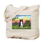Bright Country/Border Collie Tote Bag