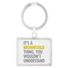 Brownsville Thing Landscape Keychain
