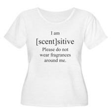 Scentsitive Plus Size T-Shirt