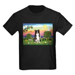 Bright Country/Border Collie Kids Dark T-Shirt