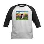 Bright Country/Border Collie Kids Baseball Jersey