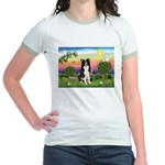Bright Country/Border Collie Jr. Ringer T-Shirt