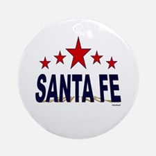 Santa Fe Ornament (Round)