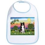 Bright Country/Border Collie Bib