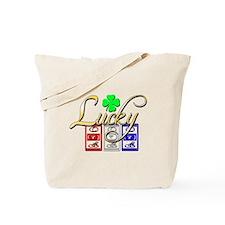Lucky Winner Tote Bag