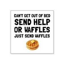 Send Waffles Sticker