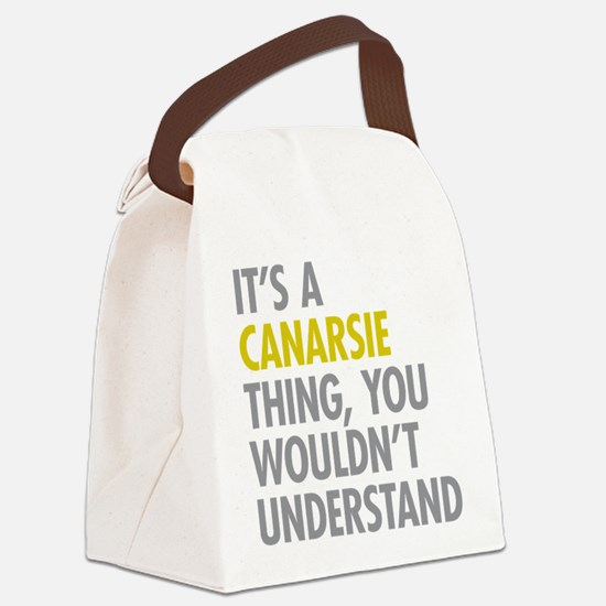 Canarsie Thing Canvas Lunch Bag
