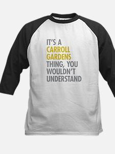 Carroll Gardens Thing Kids Baseball Jersey