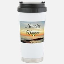 MIRACLES HAPPEN Travel Mug