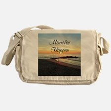 MIRACLES HAPPEN Messenger Bag