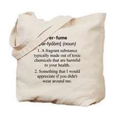Perfume Definition Tote Bag
