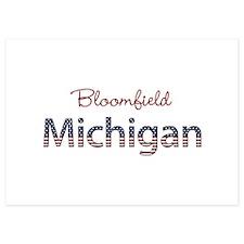 Custom Michigan Invitations